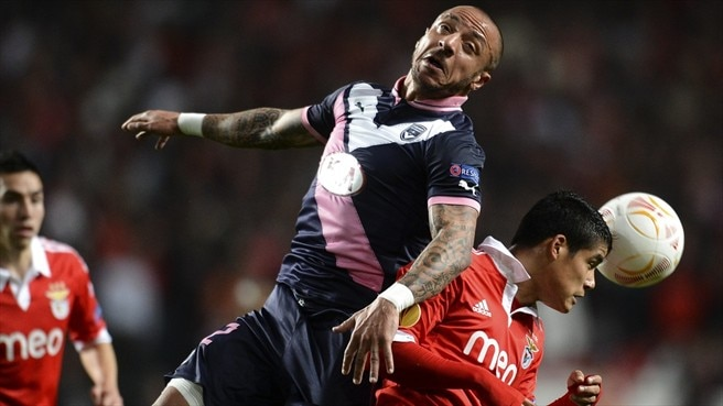 Bordeaux bid to overturn Benfica deficit