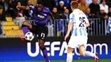 Málaga 2-0 Porto: the story in photos