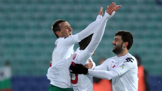 Tonev aglow after Bulgaria treble