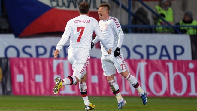 Denmark deliver at last in the Czech Republic