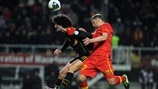 Marouane Fellaini (Belgium) & Muhamed Demiri (Former Yugoslav Republic of Macedonia)