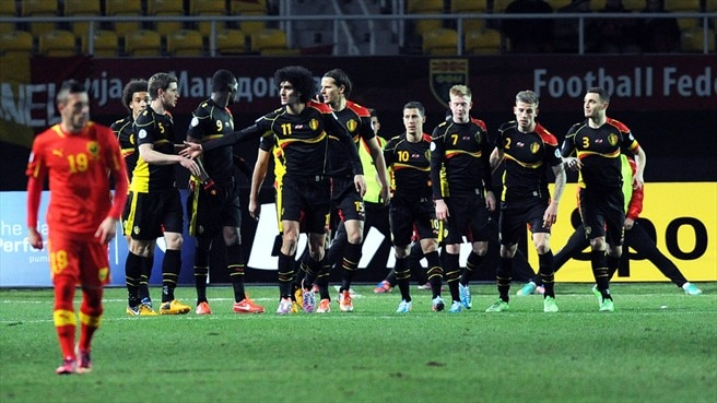 Belgium forge on with victory in Skopje