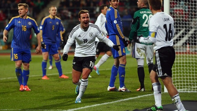 Dortmund-fired Germany too good for Kazakhstan