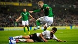 György Garics (Austria) & James McClean (Republic of Ireland)