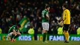 Sean St Ledger, Marc Wilson & David Forde (Republic of Ireland)