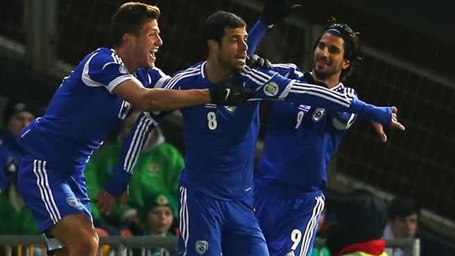 Israel land late one-two on Northern Ireland