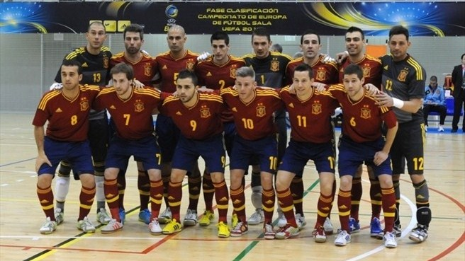 Spain the team to beat at Futsal EURO