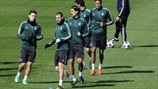 Real Madrid CF training