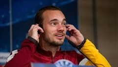 Press conference: Wesley Sneijder (Galatasaray)
