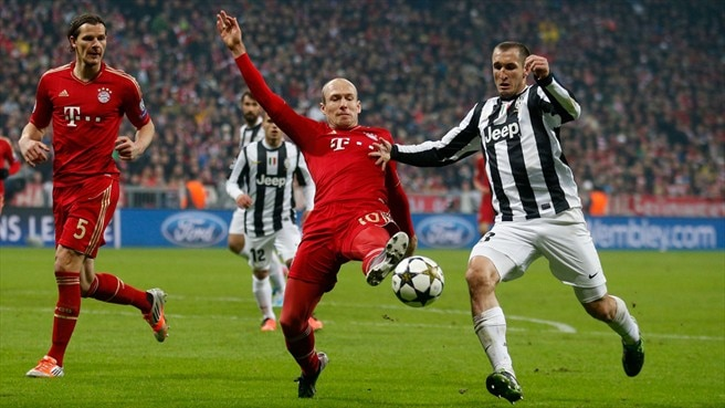 Match facts: Juventus v Bayern