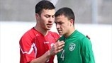 Robin Dempsey (Republic of Ireland) & Roman Tchanturia (Georgia)