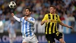 Málaga 0-0 Dortmund: the story in photos