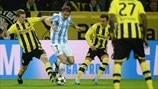 Dortmund 3-2 Málaga: the story in photos