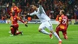 Galatasaray 3-2 Real Madrid: the story in photos