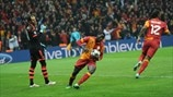Galatasaray AŞ players celebrate