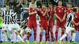 Juventus 0-2 Bayern: the story in photos