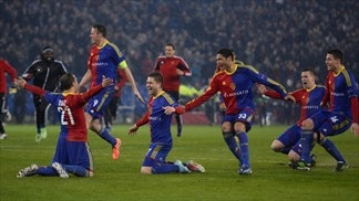 Glory sweet for Basel, Spurs devastated
