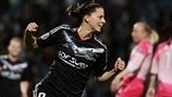 Schelin double gives Lyon upper hand