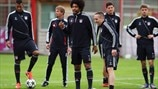 Bayern training and press conference