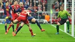 Bayern 4-0 Barcelona: the story in photos