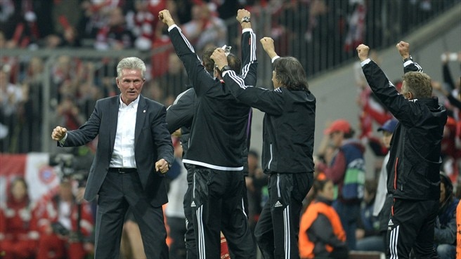 Heynckes delight at 'extraordinary' Bayern