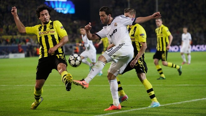 Match facts: Real Madrid v Dortmund
