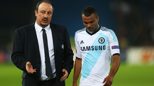 Ashley Cole & Rafael Benítez (Chelsea FC)