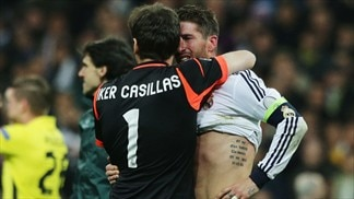 Iker Casillas & Sergio Ramos (Real Madrid CF)