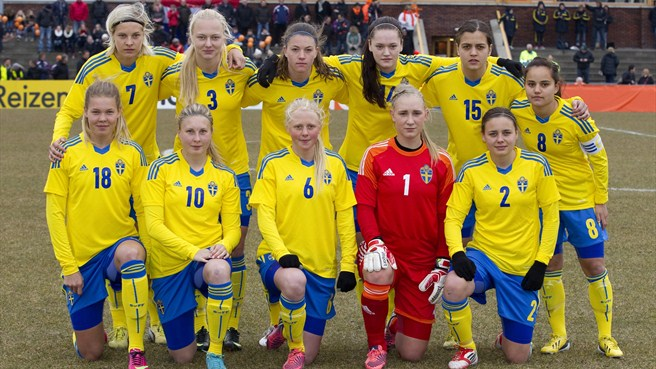 sweden ladies football