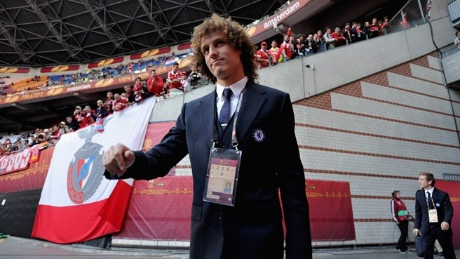 David Luiz (Chelsea FC) arrives