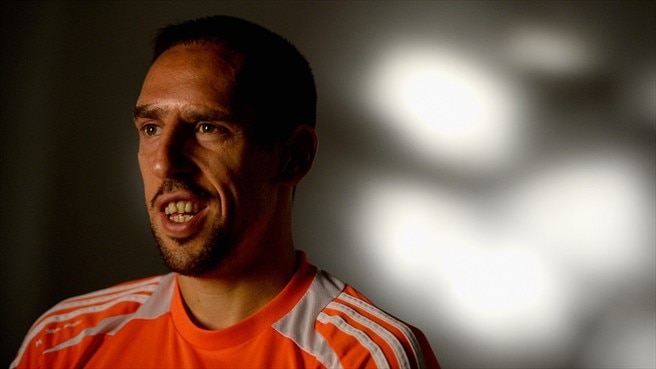 Franck Ribéry speaks to UEFA.com