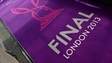 UEFA Women's Champions League final branding