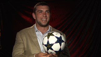Andrew Luck previews UEFA Champions League final