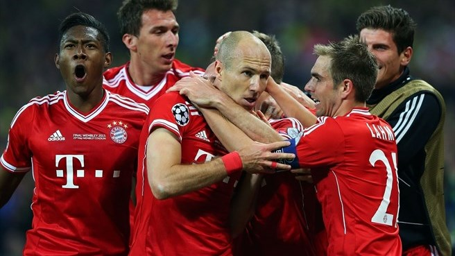 Bayern revel in fifth triumph