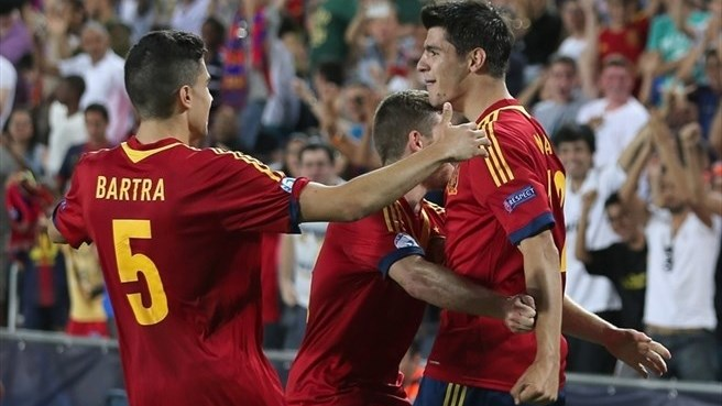Morata edges wasteful Spain past Hungary