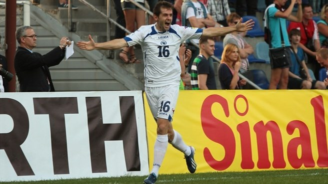 Brilliant Bosnia and Herzegovina put five past Latvia