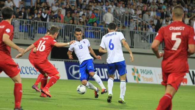 Bensi keeps Luxembourg level in Azerbaijan
