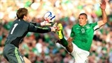 Gunnar Nielsen (Faroe Islands) & Jon Walters (Republic of Ireland)