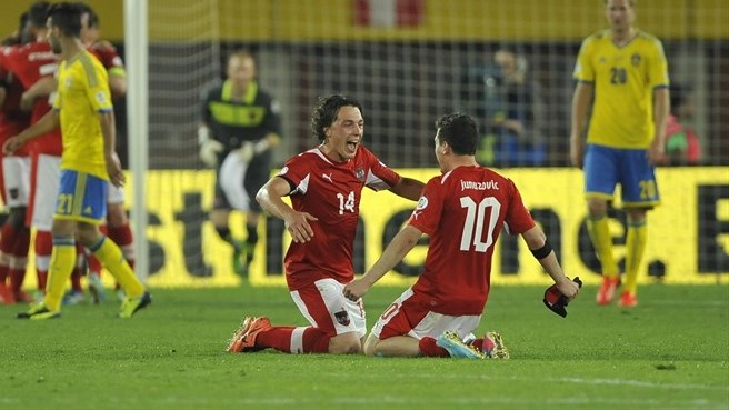 Austria aiming for second Sweden double