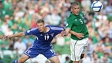 Ári Jonsson (Faroe Islands) & Jon Walters (Republic of Ireland)