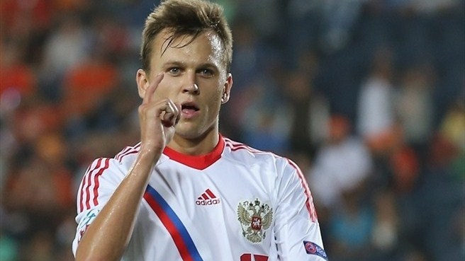 Sevilla's Cheryshev out of Maribor return