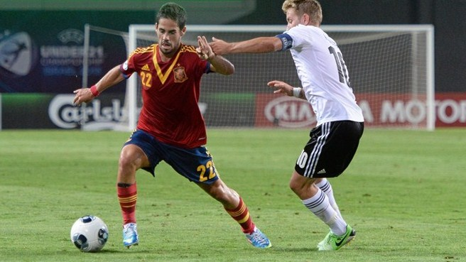 Isco relishing freedom to express himself