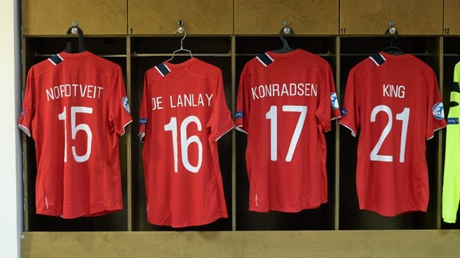 Norway dressing room