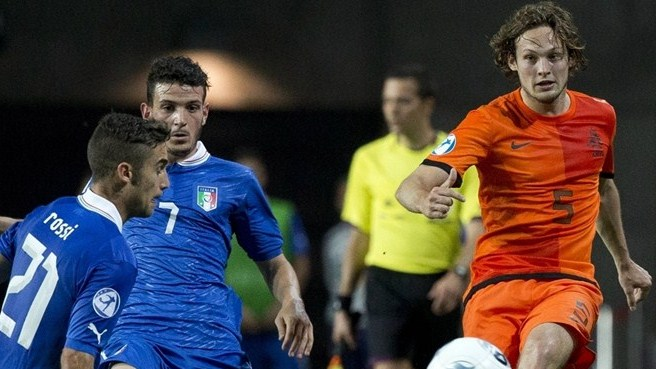 Fausto Rossi (Italy) & Daley Blind (Netherlands)