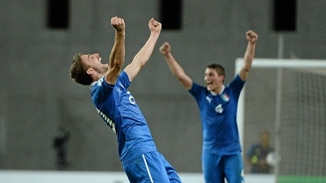 Borini 'elated' at late match winner for Italy