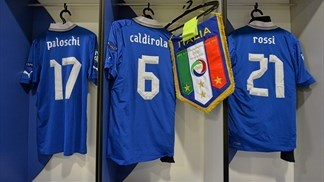 Behind the scenes: Italy v Spain
