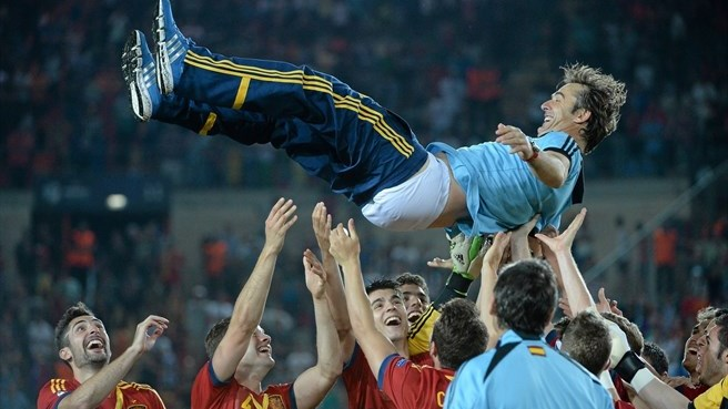 'The best feeling' for Spain stars