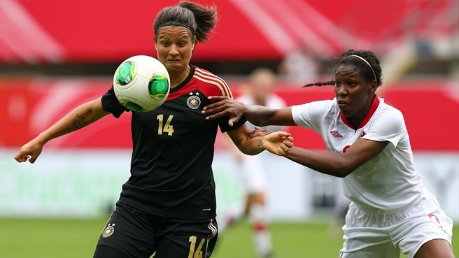 Germany register narrow win against Canada
