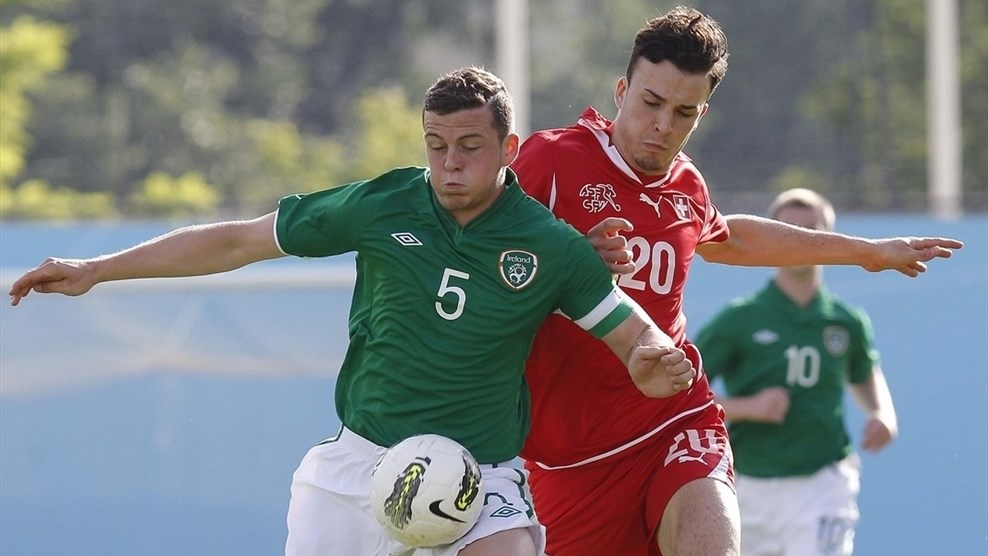 Pierce Sweeney (Republic of Ireland) & Haris Tabakovic (Switzerland)