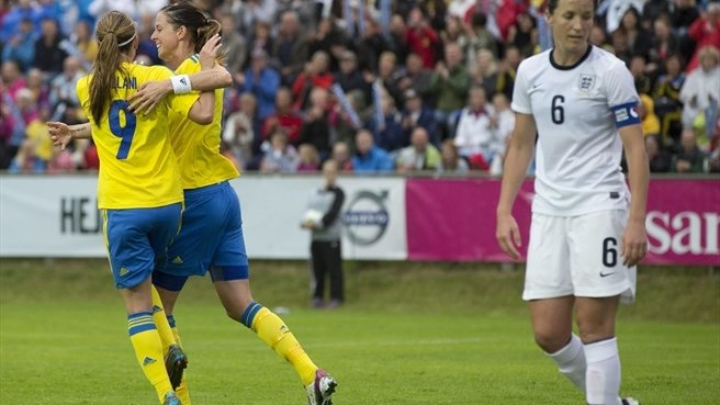 Sweden finish EURO build-up with England win